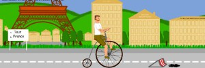 Le Tour de France Simulator 2015 : Desert Bike